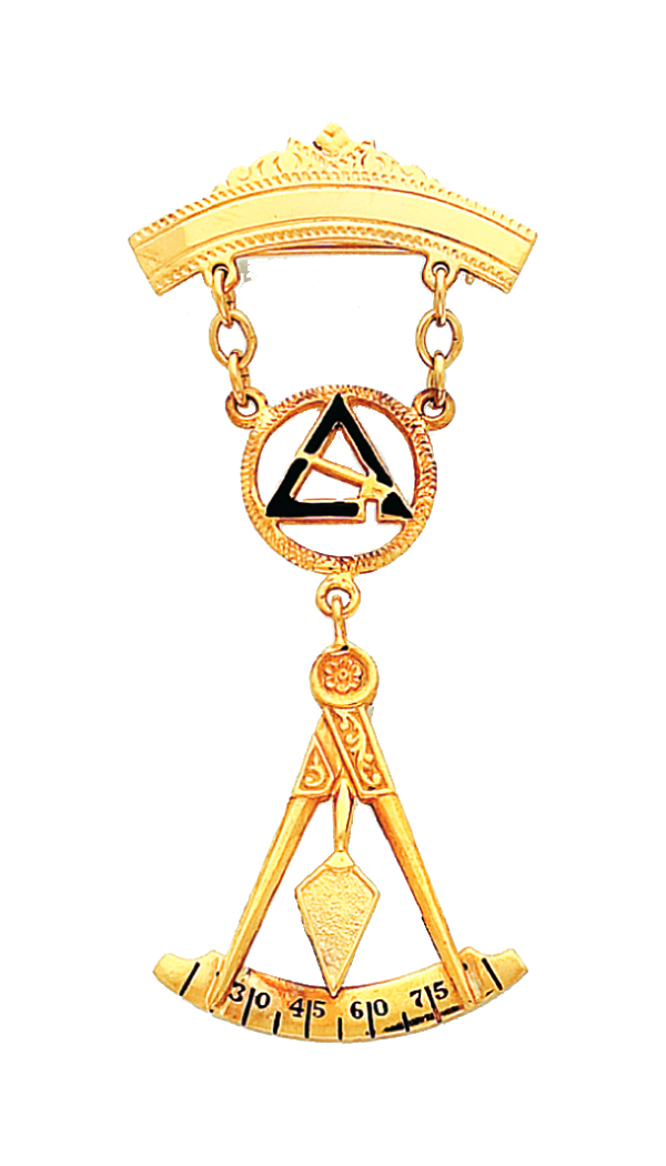 Past Thrice Illustrious Master Jewel Gold New For Sale