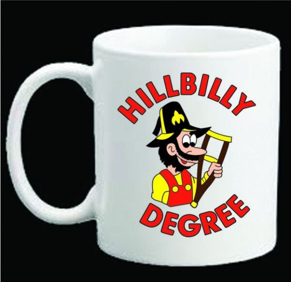 Shrine Shriner Hillbilly Degree Ceramic Coffee Mug New