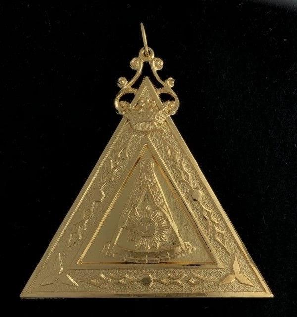 Scottish Rite Lodge Thrice Potent Master Jewel New