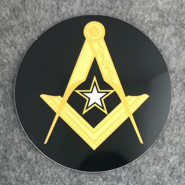 Masonic US Army Auto Emblem New