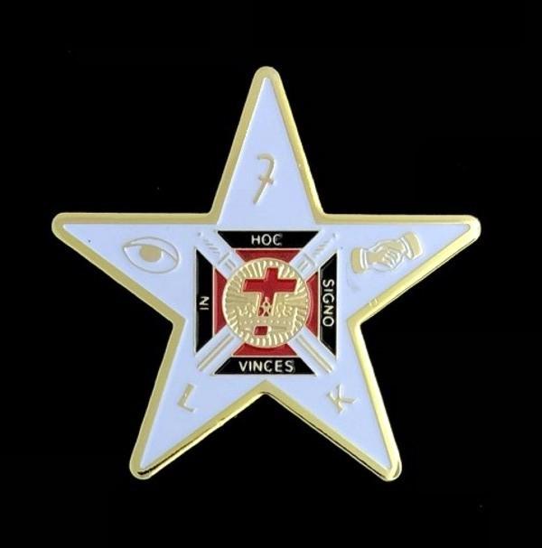 Lady Knight Templar Lapel Pin New
