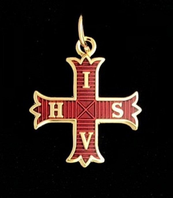 Red Cross of Constantine Charm