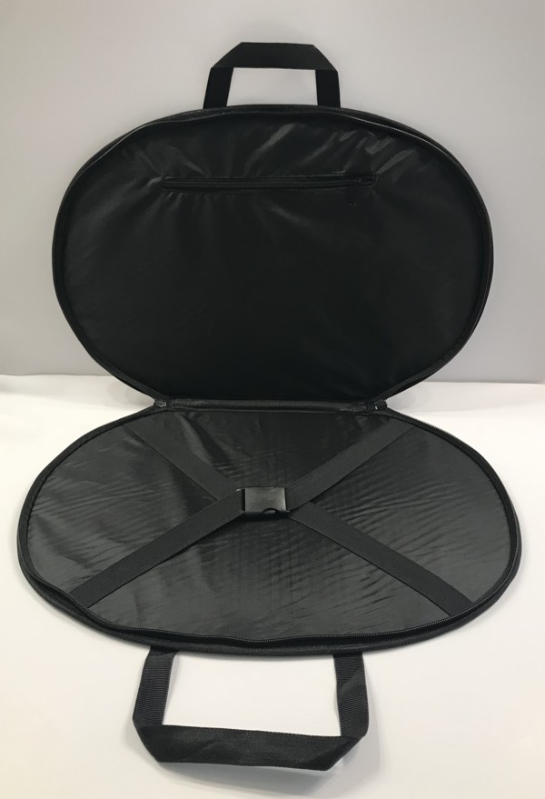 Chain Collar Carrying Case Black New
