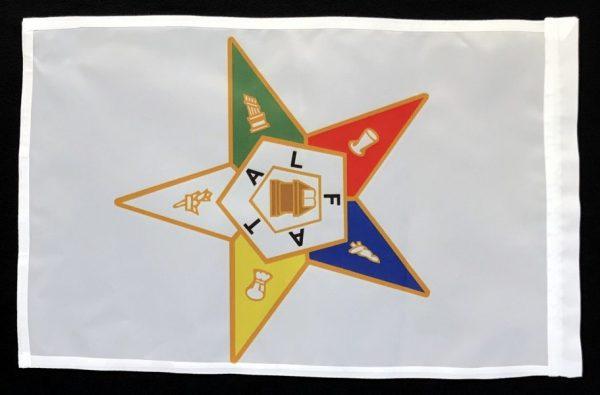 Order of the Eastern Star Garden Flag New