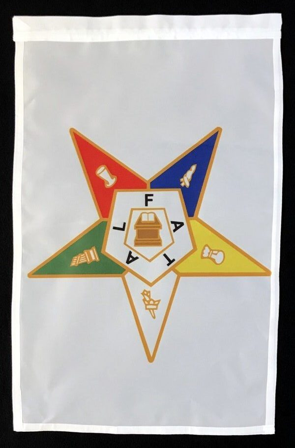 Order of the Eastern Star Garden Flag