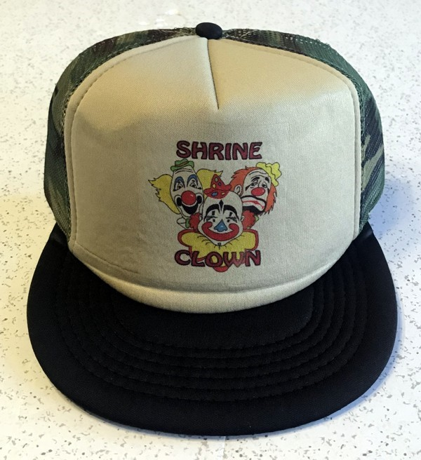 Shrine Clown Trucker Cap in Camo