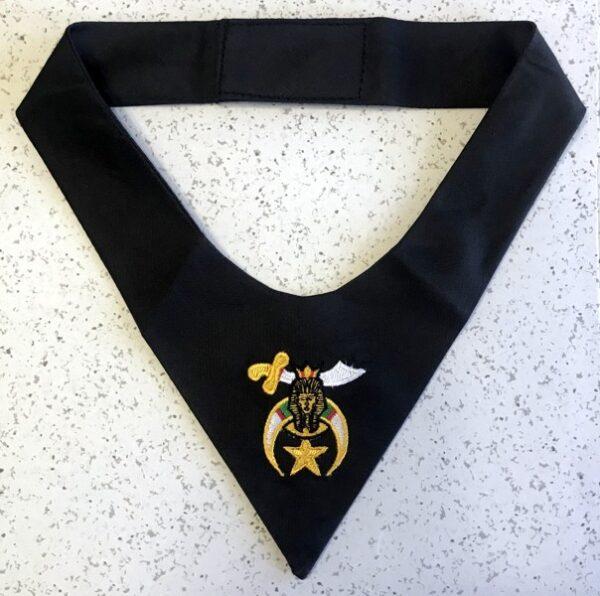 Shrine Shriner Cravat Tie Black New