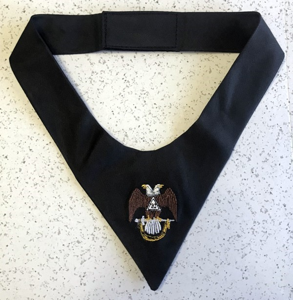 Cravat Necktie - 32nd Degree (Wings Down)