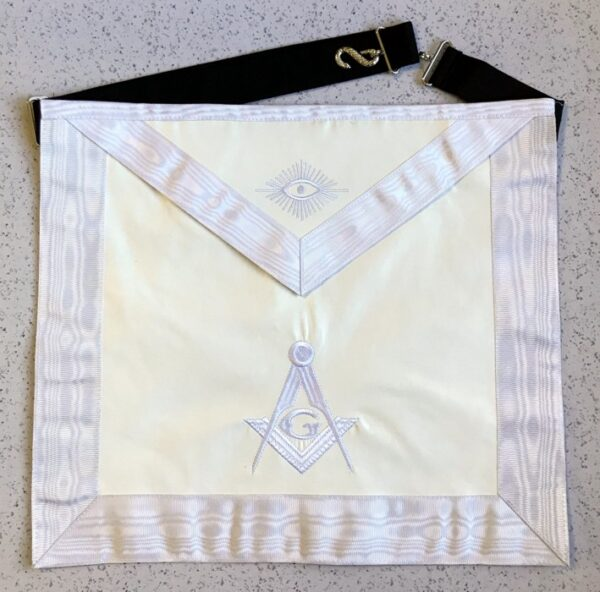 Master Mason Apron White New For Sale