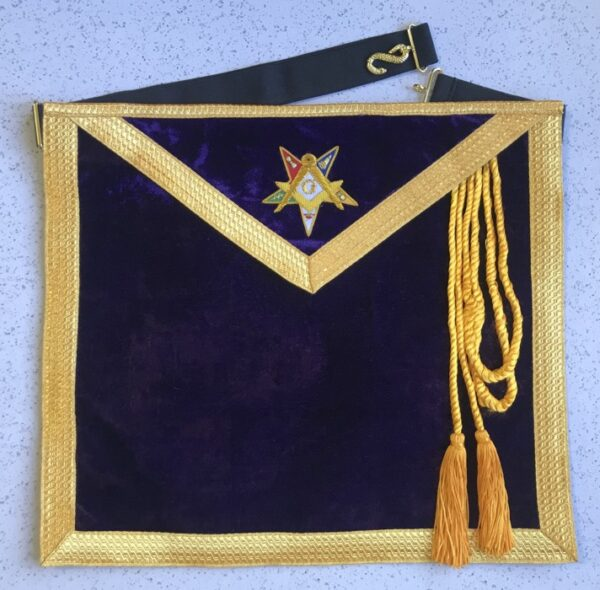 Eastern Star Past Patron Apron New For Sale