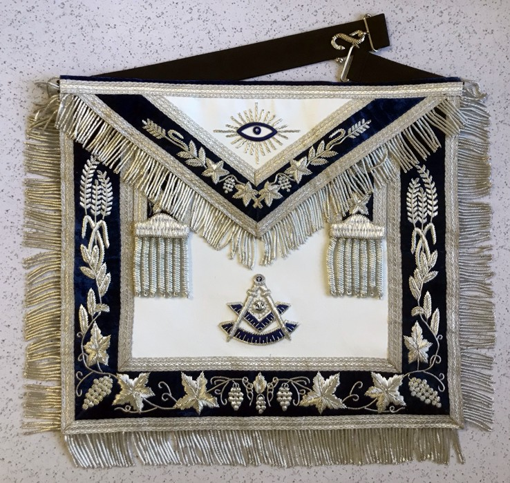 Deluxe Past Master Apron (PM775)