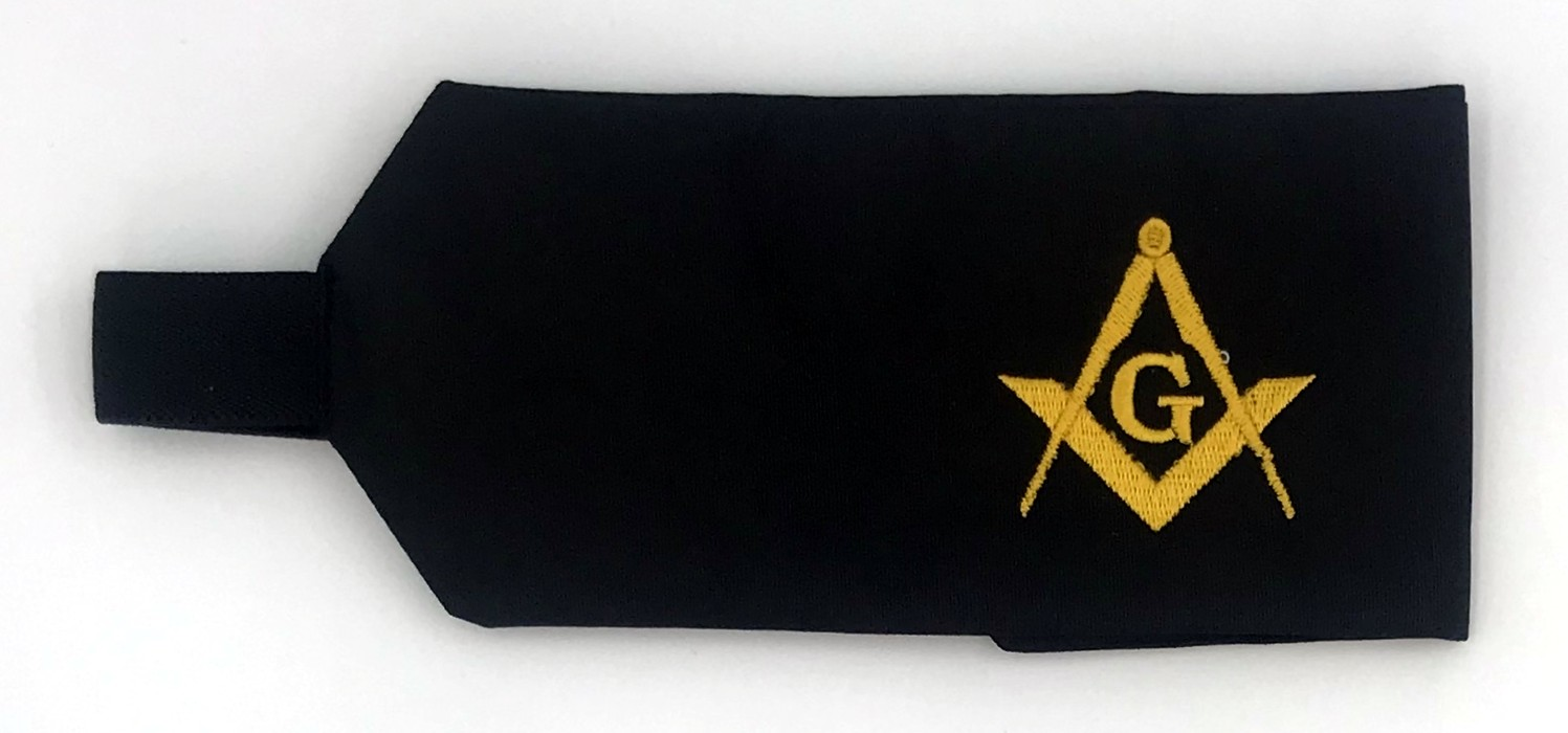 Masonic Funeral Arm Band (Dozen)