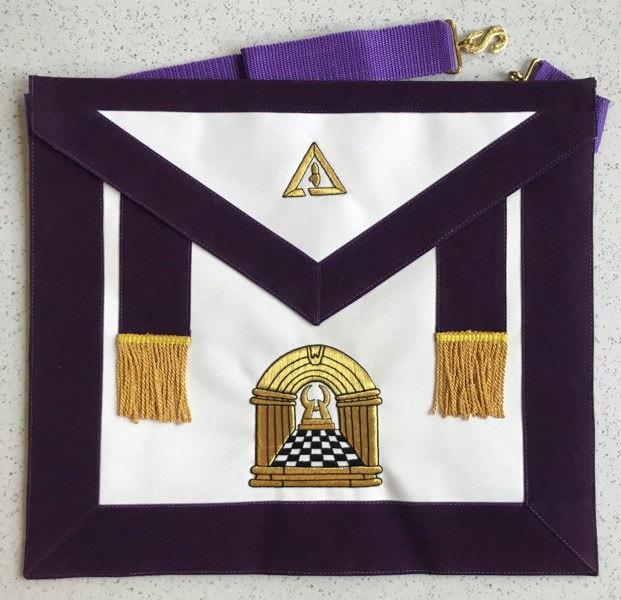 Past Illustrious Master Apron (PIM-450)