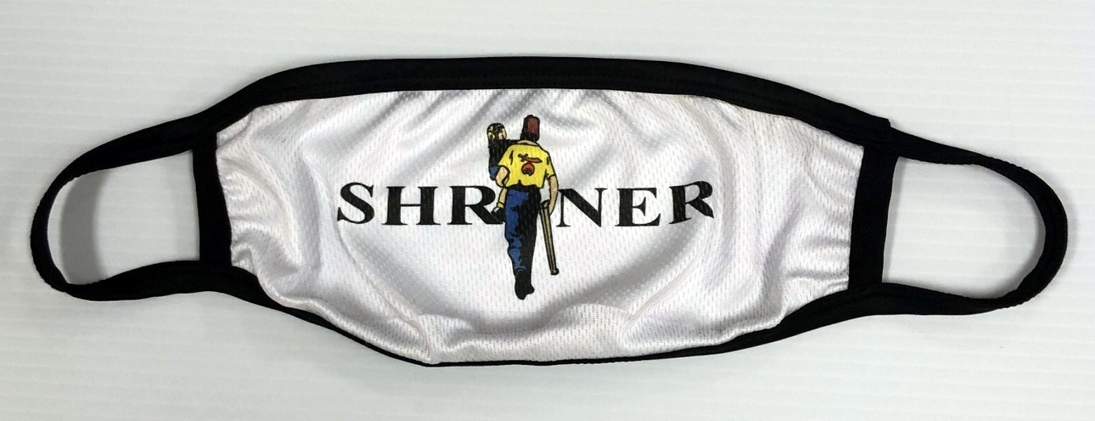 Shriner Face Mask