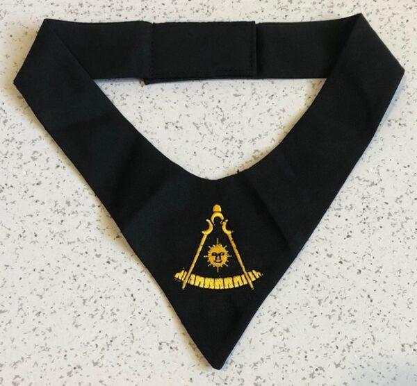 Masonic Past Master Cravat Tie New For Sale
