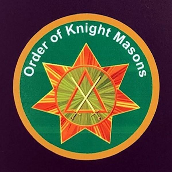 Knight Masons Auto Emblem New For Sale