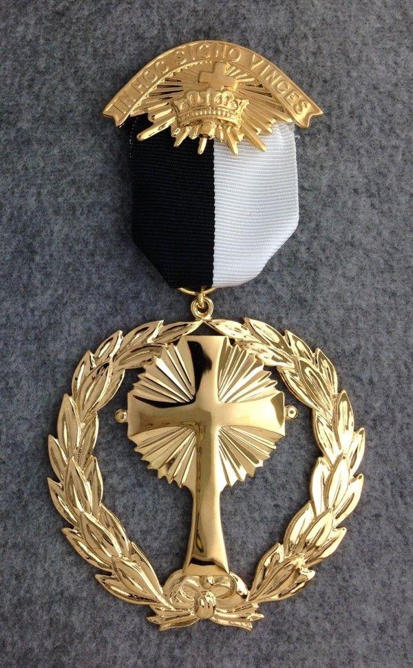 Knight Templar Grand Commandery Jewel New