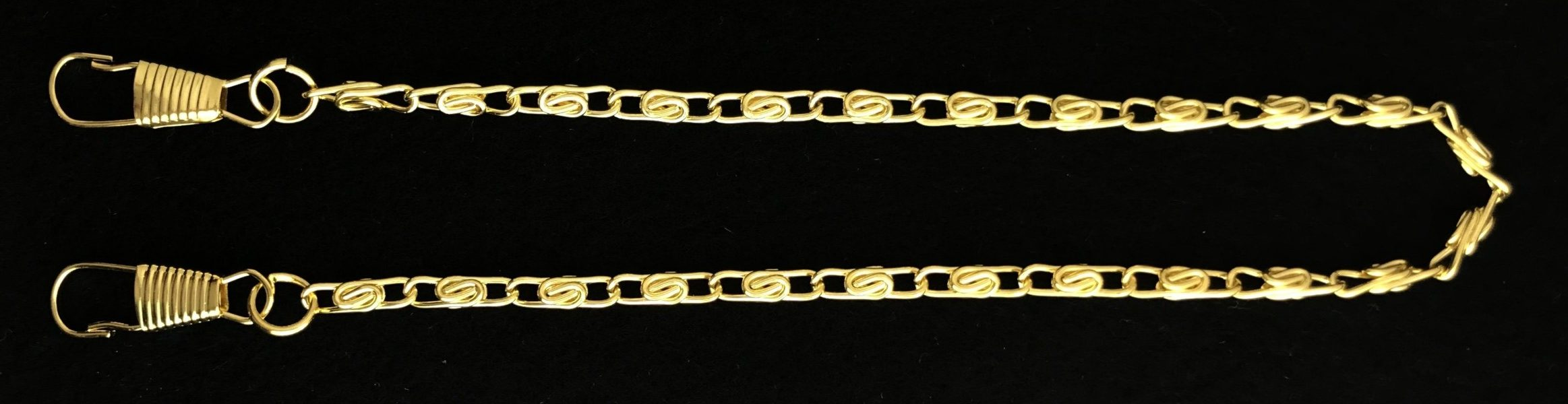 Chain Collar Preventer Chain in Gold Plating - Economy