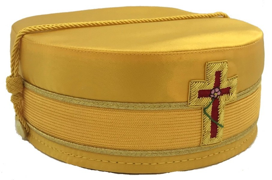 Chapter of Rose Croix Officer Scottish Rite Cap (NMJ)