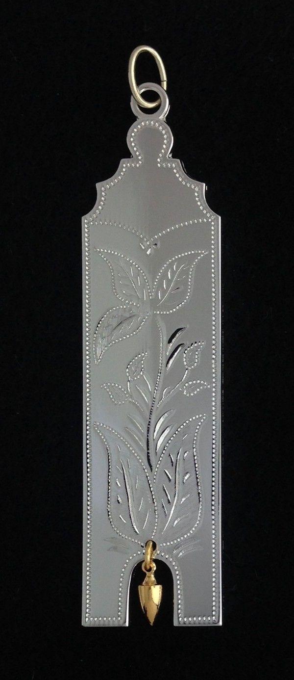 Masonic Junior Warden Collar Jewel Silver New