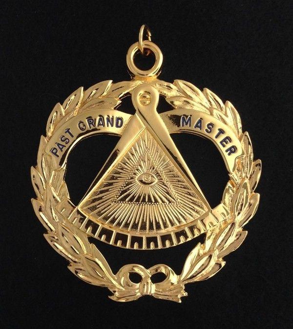 Masonic Past Grand Master Collar Jewel New