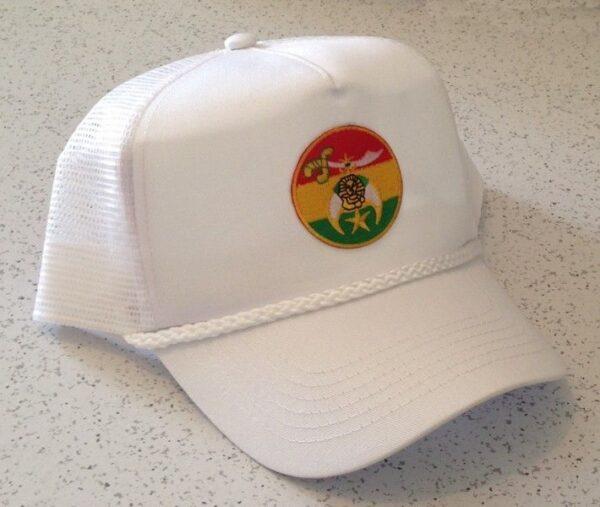 Shrine Shriner Cap Hat White New For Sale
