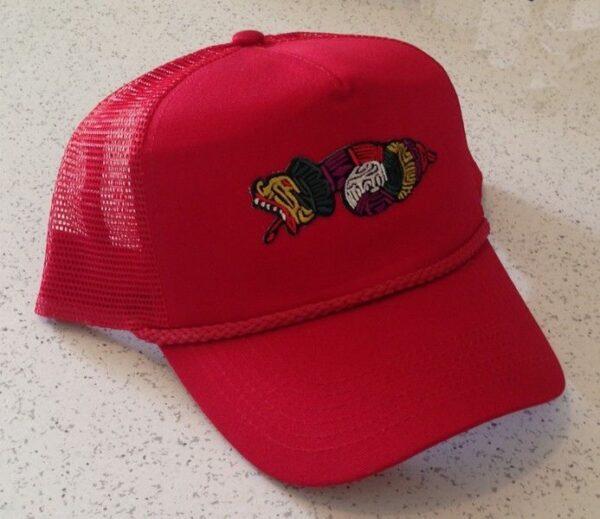 Order of Quetzalcoatl Cap Hat Red