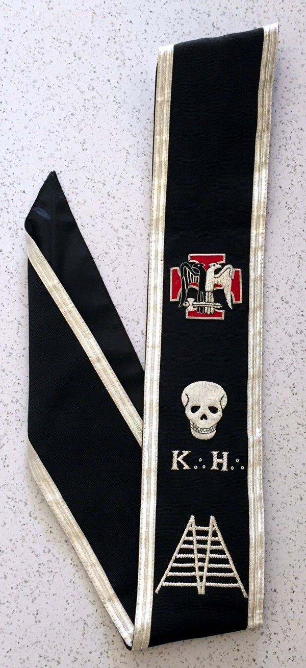 30th Degree Baldric (Sash) - Version 2
