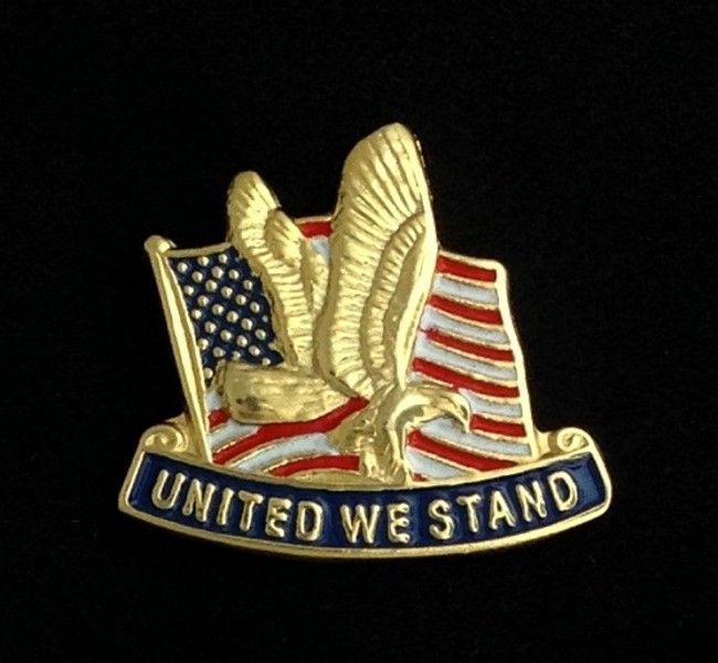 United We Stand Lapel Pin