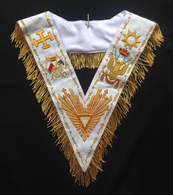 Sovereign Grand Commander Embroidered Collar