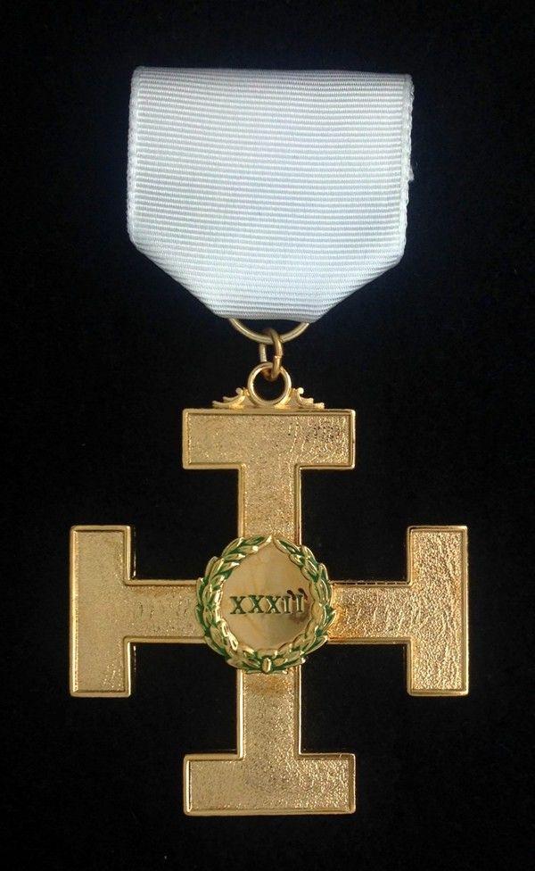 Scottish Rite 32nd Degree Jewel Cross New