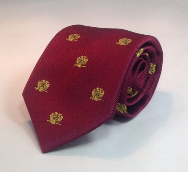 Scottish Rite 32nd Degree Necktie Maroon For Sale