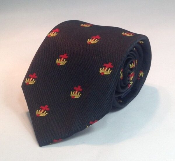 Knight Templar Necktie Black New For Sale