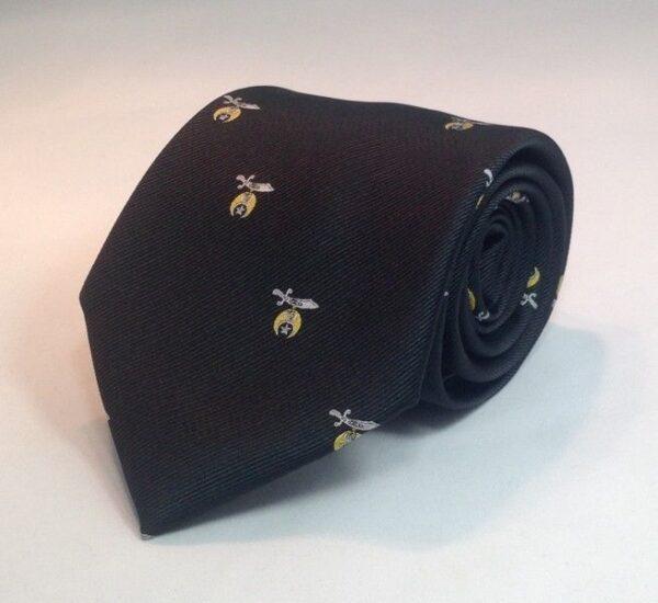 Shrine Shriner Necktie Black New For Sale