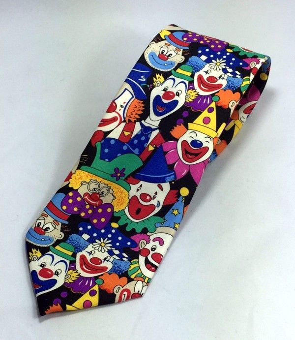 Shriner Clown Necktie