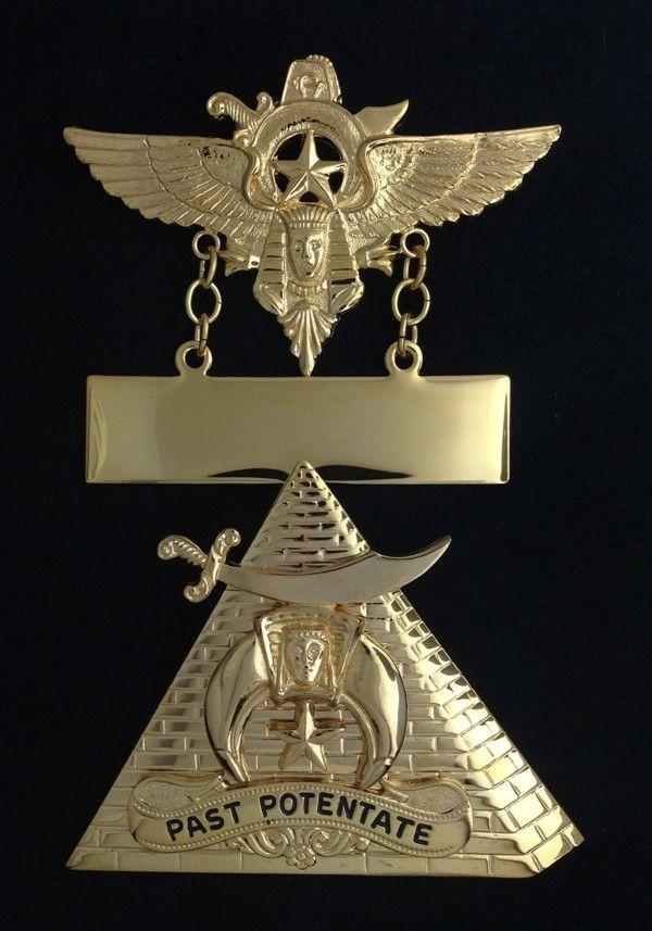 Shrine Shriner Paste Potentate Jewel New For Sale