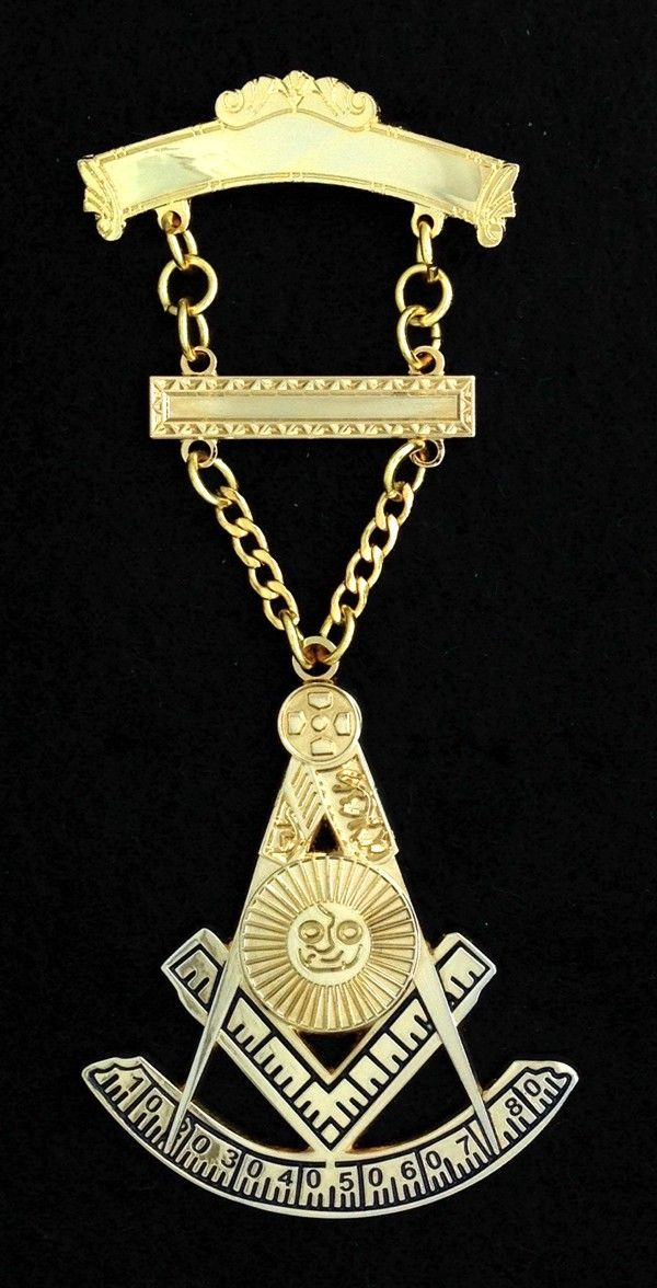Masonic Past Master Jewel - Style PM3-200