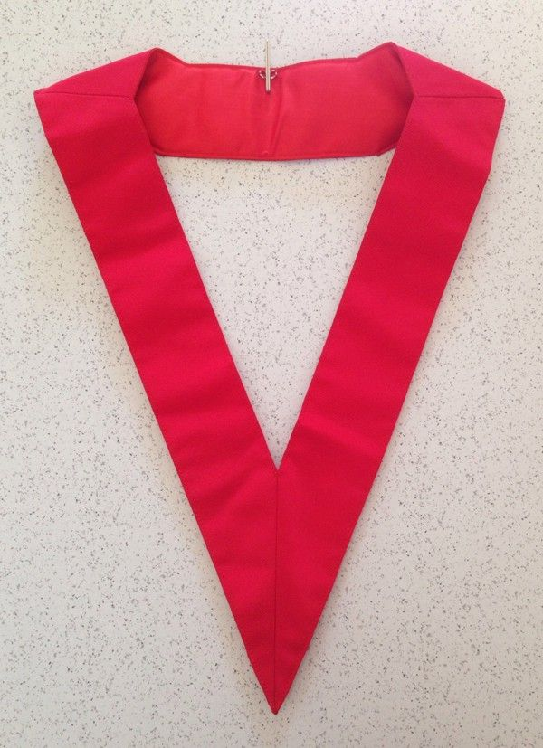 18th Degree Scottish Rite Collar New