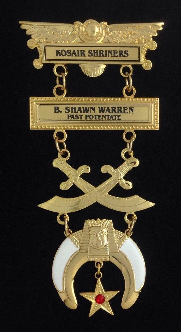 Shrine Shriner Past Potentate Pocket Jewel New