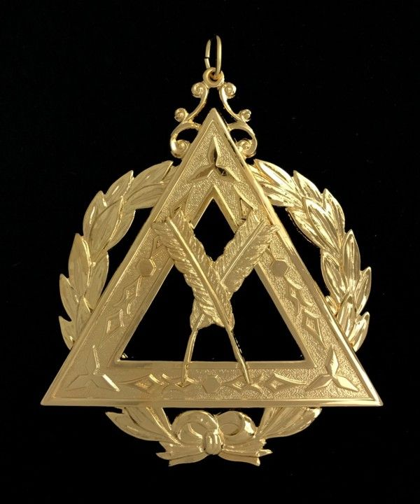 Grand Royal Arch Chapter Officer Collar Jewel New