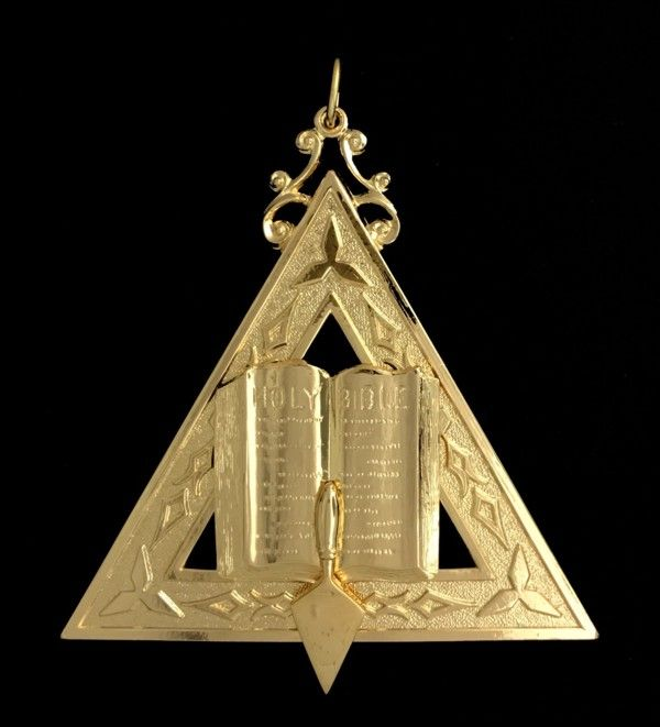 Chaplain Collar Jewel - Click Image to Close