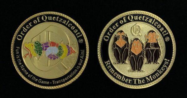 Order of Quetzalcoatl Challenge Coin