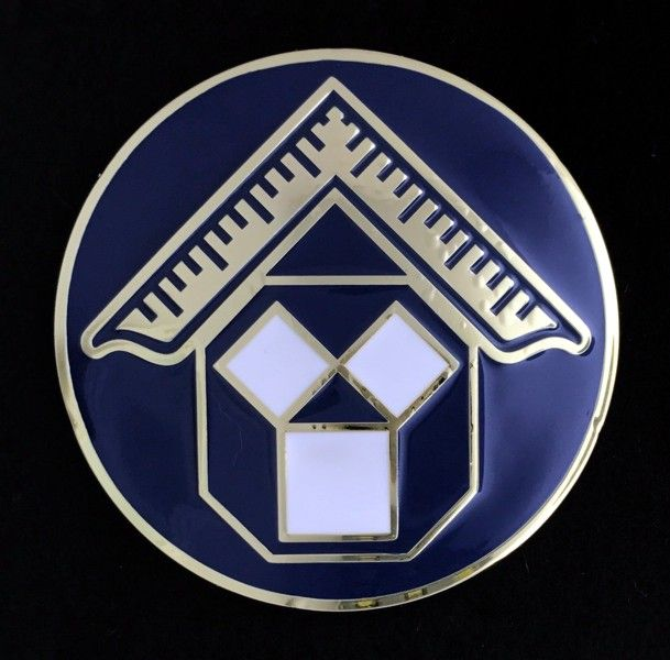 Past Master (Pennsylvania) Car Auto Emblem