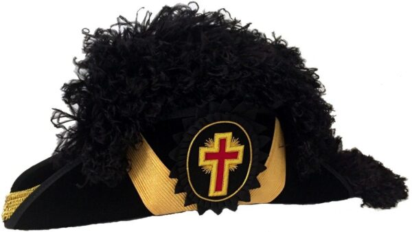 Knight Templar Chapeau Hat New For Sale