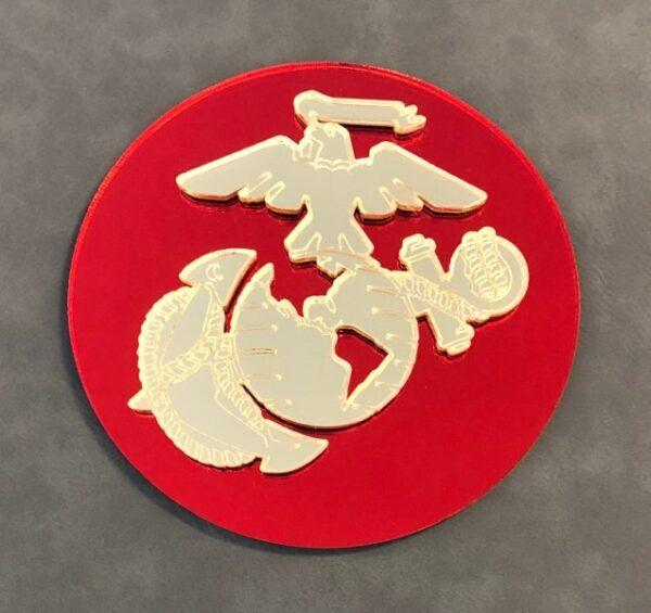 US Marine Corps Casket Emblem