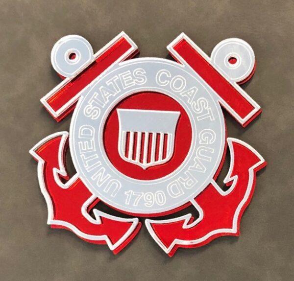US Coast Guard Casket Emblem