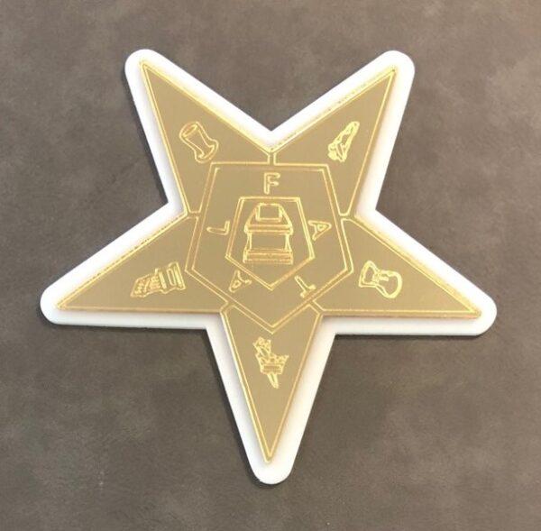 Eastern Star Casket Emblem