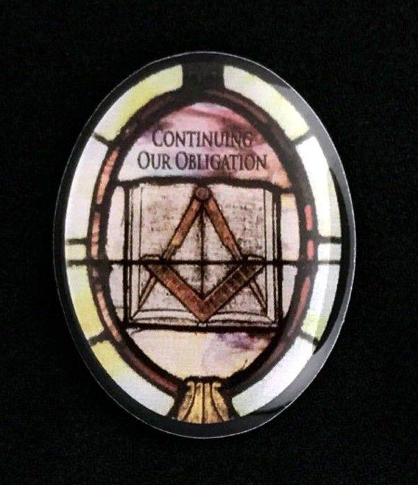 Masonic Bible Lapel Pin New