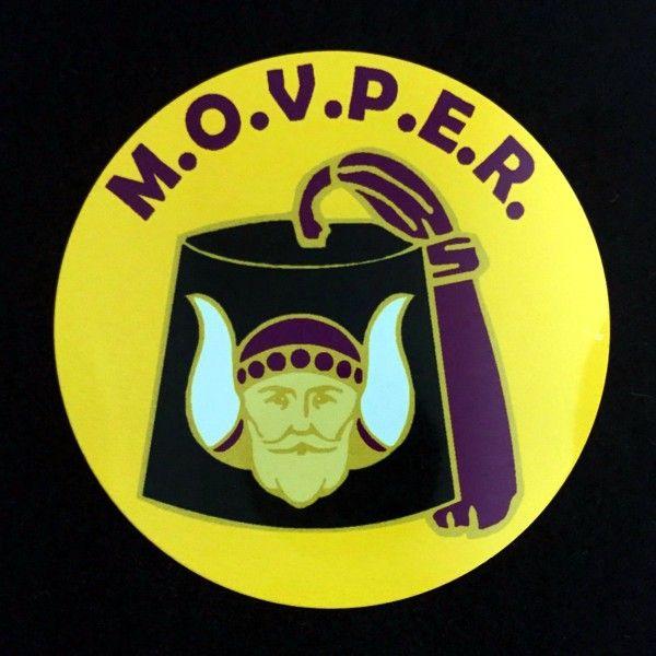 Grotto Past Monarch Auto Emblem New