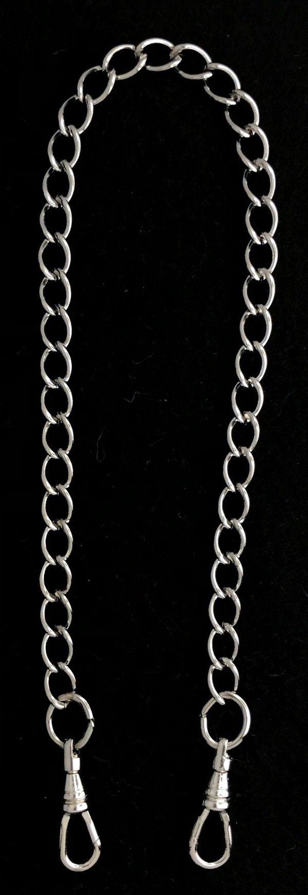 Chain Collar Neck Preventer Chain Silver New